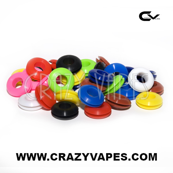 Grommets Colored Silicone