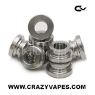 eCigarette Stainless Steel Cap