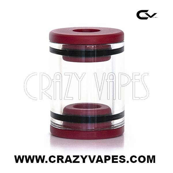 Red Carto Glass eCig Tank