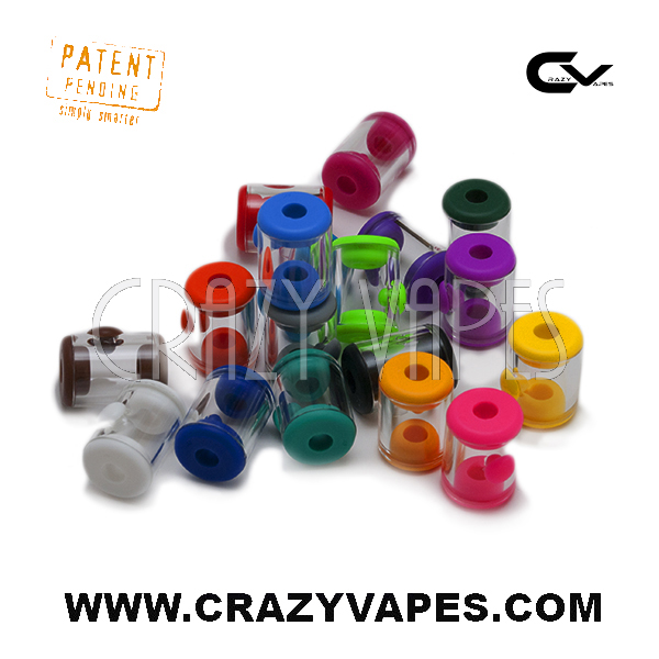 Side Access Port eCig Glass Tank
