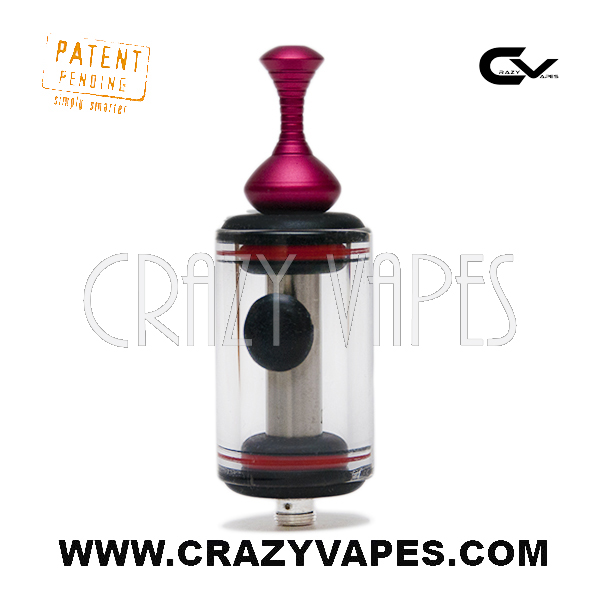 Side Fill eCig Glass Carto Tank