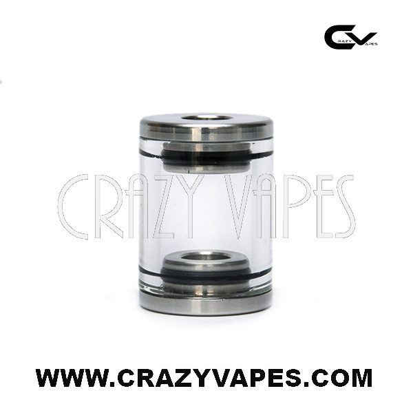 electronic cigarette stainless glass tank